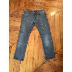 Jeans slim C'N'C Costume National  pas cher