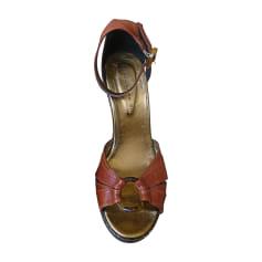 Sandales compensées Barbara Bui  pas cher