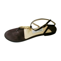 Sandales plates  Jimmy Choo  pas cher