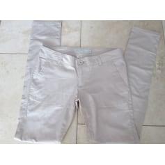 Pantalon slim, cigarette Giorgio Di Mare  pas cher