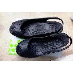 Sandales compensées Crocs  pas cher