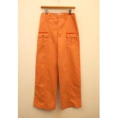 Pantalon droit Comme un poisson dans l'eau  pas cher