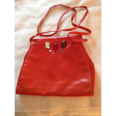 Handtasche Leder Charles Jourdan