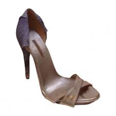 Escarpins à bouts ouverts Nina Ricci  pas cher