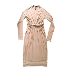 Robe mi-longue Donna Karan  pas cher