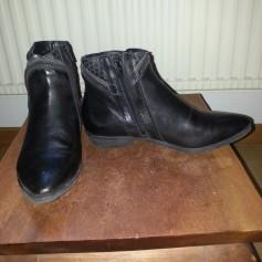 Bottines & low boots plates Khrio  pas cher