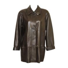 Manteau en cuir Sprung Frères  pas cher