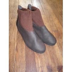 Bottines & low boots à compensés Hirica  pas cher