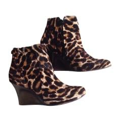 Bottines & low boots à compensés Lanvin  pas cher