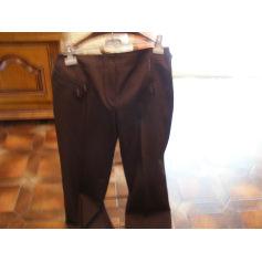 Pantalon droit Alain Manoukian  pas cher