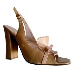 Sandales à talons Mellow Yellow  pas cher
