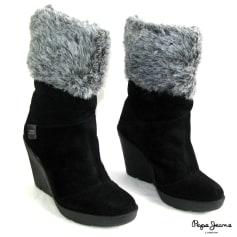 Bottines & low boots à compensés Pepe Jeans  pas cher