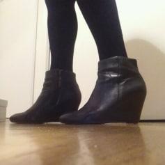 Bottines & low boots à compensés Bocage  pas cher