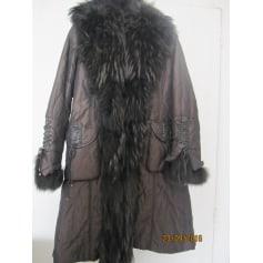 Manteau en fourrure Sagaie  pas cher