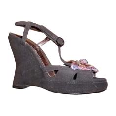 Sandales compensées Bottega Veneta  pas cher