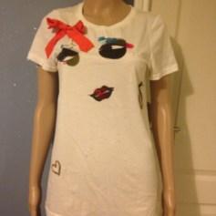 Top, tee-shirt Lanvin pour H&M  pas cher