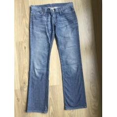 Jeans droit Benetton  pas cher