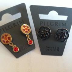 Boucles d'oreille Pilgrim  pas cher