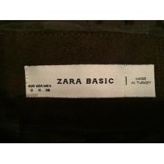Blouson en cuir Zara  pas cher