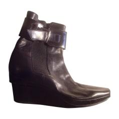 Bottines & low boots à compensés Stephane Kélian  pas cher