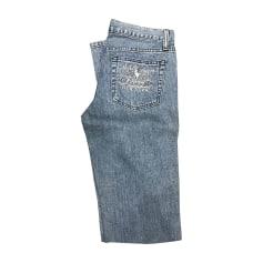 Jeans très evasé, patte d'éléphant Ralph Lauren  pas cher