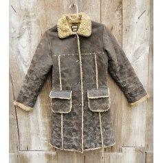 Manteau en cuir Ikks  pas cher