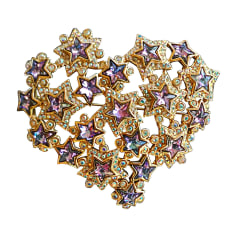 Broche Yves Saint Laurent  pas cher