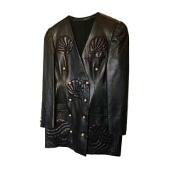 Manteau en cuir Torrente  pas cher