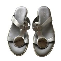 Sandales plates  Hogan  pas cher