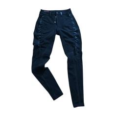 Pantalon slim, cigarette High Use  pas cher