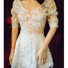 Robe courte N/A  pas cher