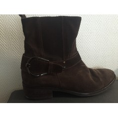 Bottines & low boots plates Georges Rech  pas cher