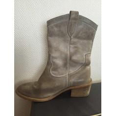 Santiags, bottines, low boots cowboy Les Petites Parisiennes  pas cher