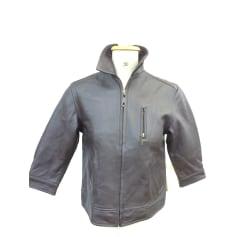 Leather Zipped Jacket Chevignon
