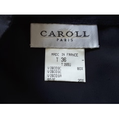 Jupe mi-longue Caroll  pas cher