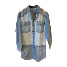 Robe en jeans Isabel Marant Etoile  pas cher
