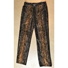 Pantalon droit Nicowa  pas cher