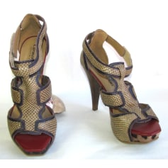 Sandales à talons Carmen Steffens  pas cher