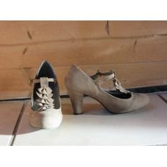 Sandales à talons La Redoute  pas cher