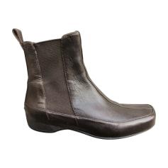 Bottines & low boots plates Stephane Kélian  pas cher
