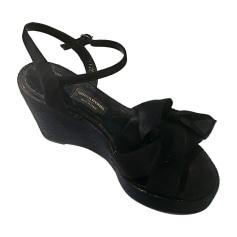 Sandales compensées Sonia Rykiel  pas cher
