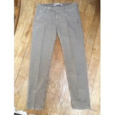 Pantalon slim, cigarette True NYC  pas cher