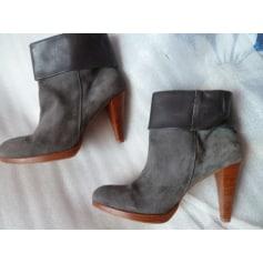 Bottines & low boots à talons Naf Naf  pas cher