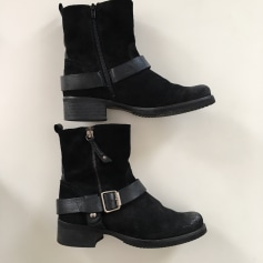 Bottines & low boots plates Kanna  pas cher