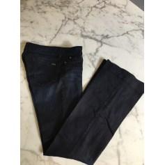 Jeans évasé, boot-cut Aquaverde  pas cher