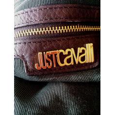 Sac en bandoulière en tissu Just Cavalli  pas cher