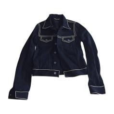 Veste en jean Yves Saint Laurent  pas cher
