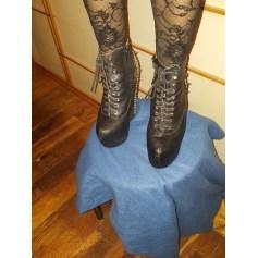 Bottines & low boots à compensés Jeffrey Campbell  pas cher