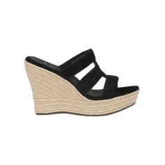 Sandales compensées UGG  pas cher