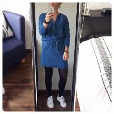 Robe en jeans Promod  pas cher
